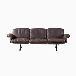 Vintage Leather Model DS31 Sofa from de Sede, 1970s