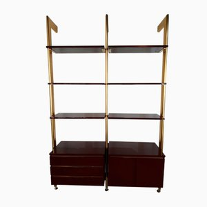Vintage Bordeaux Wall Unit from Guissano