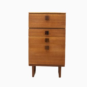 Mid-Century Rosewood and Teak Chest of Drawers, 1960s