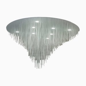 Lámpara de techo Volatilis escultural de Paul Coudamy