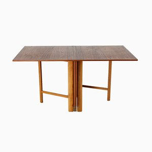 Table Maria Flap par Bruno Mathsson pour Firma Karl Mathsson, Suède, 1960s