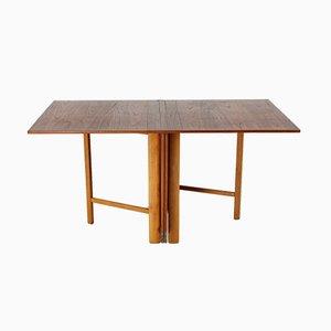 Tavolo Maria Flap di Bruno Mathsson per Firma Karl Mathsson, Svezia, anni '60