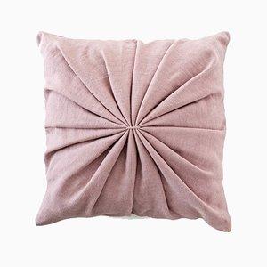 Cuscino Ami rosa cipria di Lisa Hilland per Mylhta