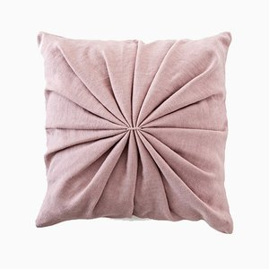 Dusty Pink Ami Cushion by Lisa Hilland for Mylhta