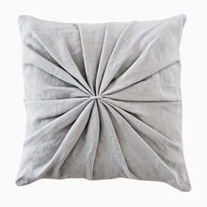 Light Grey Ami Cushion by Lisa Hilland for Mylhta