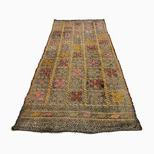 Vintage Turkish Wool Carpet, 1950s