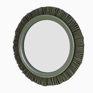 Large Forest Green Gloria Mirror by Lisa Hilland for Mylhta