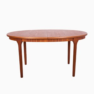 Mid-Century Teak Extendable Dining Table from McIntosh, 1960s