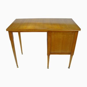 Mid-Century Italian Cherry Desk by Paolo Buffa, 1940s