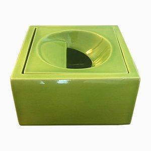 Taschentuchbox aus Keramik von Marie Madeleine Boucraut für Atelier D'Enfer, 1970er