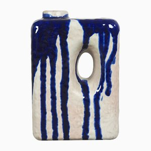 Deutsche Mid-Century Keramikvase von Marei Keramik, 1960er