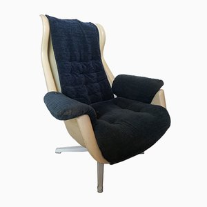 Vintage Galaxy Swivel Chair by Alf Svensson and Yngve Sandström for DUX