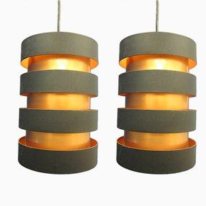 Eiffel Deckenlampen von Johannes Hammerborg für Fog & Mørup, 1960er, 2er Set