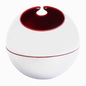 Italienische Sphere 199 Vase von Gio Pomodoro für Alessi D'Après, 1972