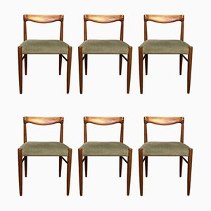 Teak Dining Chairs by HW Klein for Brahmin, 1960s, Set of 6