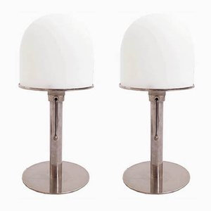 Vintage Bauhaus Table Lamps, Set of 2