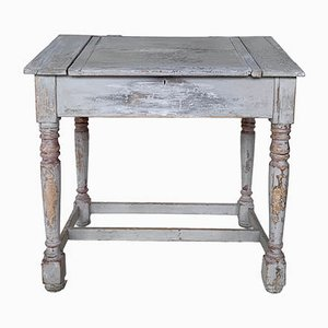 Vintage Grey Sloped Desk