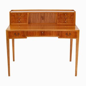 Mid-Century Swedish Walnut Desk