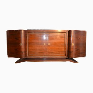 Art Deco French Rosewood Sideboard, 1930s