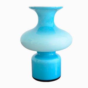 Vase Carnaby Mid-Century Bleu par Per Lütken pour Holmegaard, Danemark, 1960s