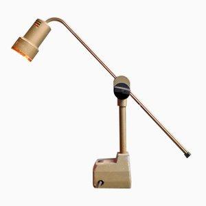 Lampe de Bureau Ajustable Industrielle, 1950s