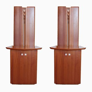 Micene Chairs by Ferdinando Meccani for Meccani Arredamenti, 1978, Set of 2