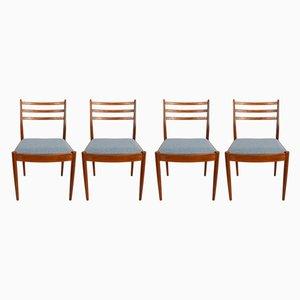 Vintage Esszimmerstühle aus Teak von Victor Wilkins für G-Plan, 1960er, 4er Set