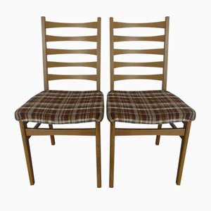 German Side Chairs, 1950s, Set of 2