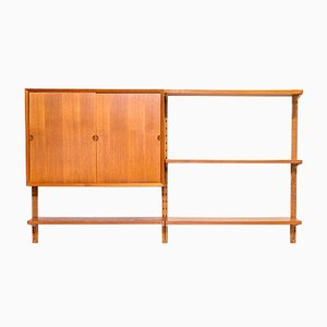 Danish Teak Wall Cabinet by Poul Cadovius for Cado, 1960s