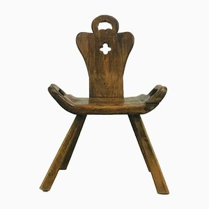 Brutalistischer Vintage Stuhl