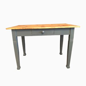 Antique Grey Table