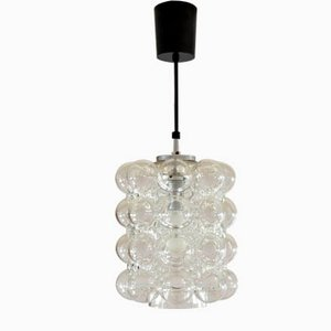 Mid-Century German Glass Chandelier by Helena Tynell, 1960s