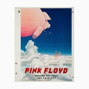 Póster prototipo de concierto de Pink Floyd de Randy Tuten, 1977
