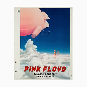 Vintage Pink Floyd Poster by Randy Tutuen, 1977