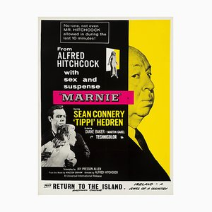 Alfred Hitchcock Marnie Film Poster, 1964