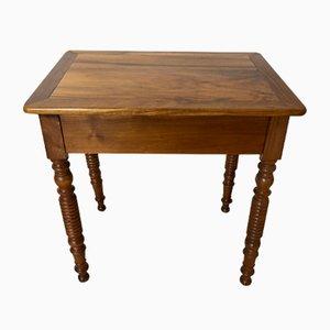 Antiker Louis Schreibtisch aus Nussholz mit Schublade