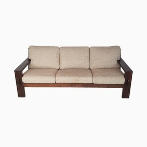 Oak 3-Seater Bonanza Sofa by Esko Pajamies for Asko, 1960s