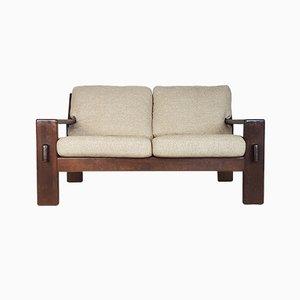 2-Sitzer Bonanza Sofa aus Eiche von Esko Pajamies für Asko, 1960er