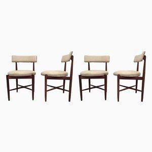 Fresco Esszimmerstühle aus Teak von Ib Kofod Larsen für G-Plan, 1960er, 4er Set