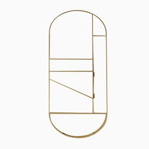 Goldener Foldwork Stummer Diener von Studio Berg, 2019