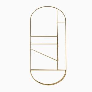 Valet pieghevole dorato di Studio Berg, 2019