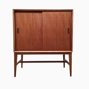 Teak Record Cabinet, 1960s