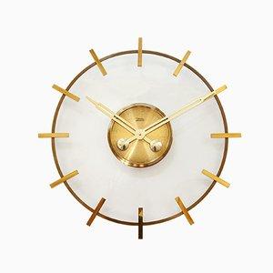 Große Uhr im Bauhaus-Stil von Diehl Junghans, 1960er