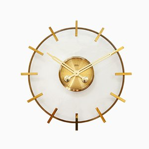 Large Bauhause Style Clock from Diehl Junghans, 1960s