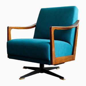 Mid-Century German Swivel Chair, 1960s