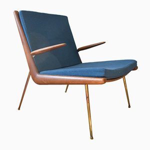FD-135 Boomerang Lounge Chair by Peter Hvidt & Orla Mølgaard-Nielsen for France & Søn / France & Daverkosen, 1950s