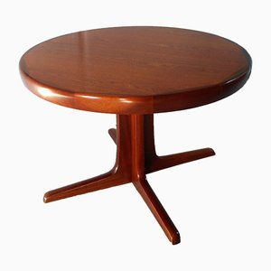 Ausziehbarer Esstisch aus Ulmenholz von Baumann, 1960er