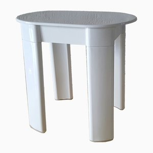 Small Italian Plastic Side Table by Olaf von Bohr for gedy, 1970s