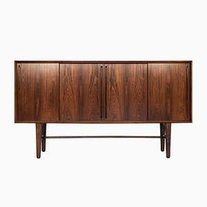 Danish Rosewood Highboard by Arne Vodder for H.P. Hansen, 1960s