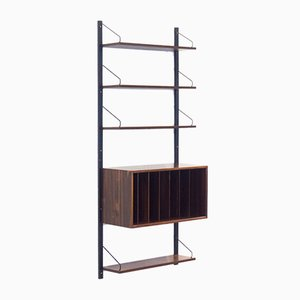 Danish Rosewood Royal System Wall Unit by Poul Cadovius, 1960s